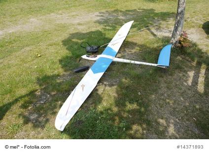 Segelflugzeug mit Fernsteuerung